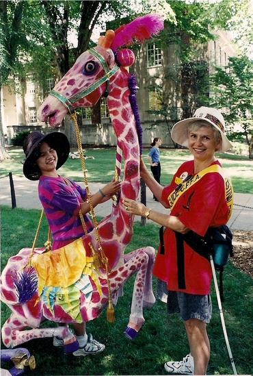 Paper Mache Giraffe Arts Fest.png