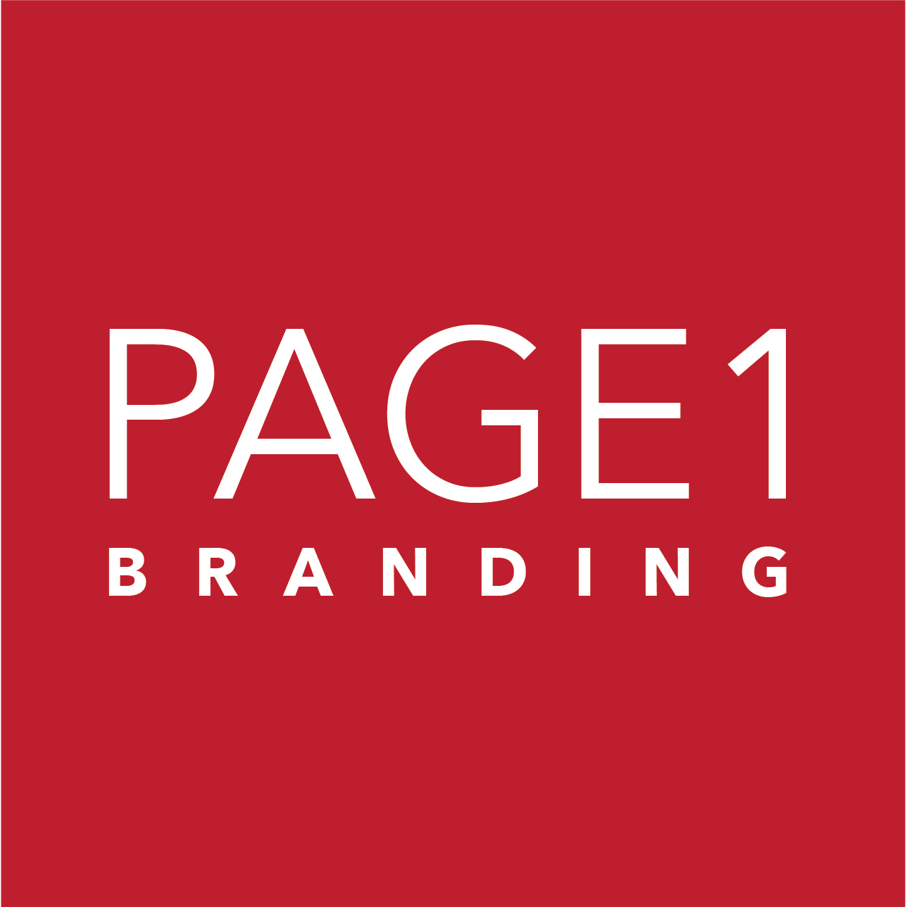 Page1 Branding