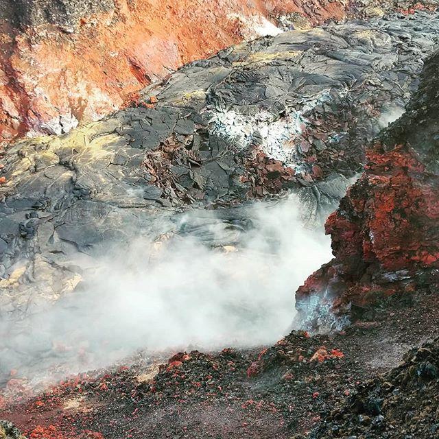 🌋 2018 Eruption Site 8, Pahoa, Hawaii 🌋   #volcano #pixel2xl #hawaii