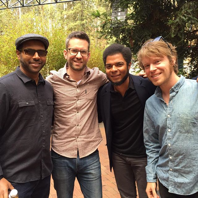 Great show with the band at  beautiful Stern Grove today. I could get used to this. #freemusic #sterngrove #sf #parklife