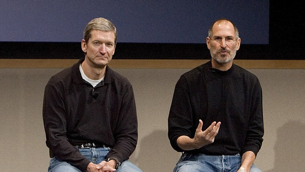 Tim Cook & Steve Jobs Californian style