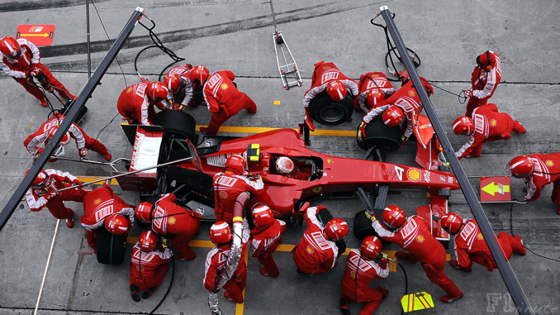 Ferrari's Formula One Team