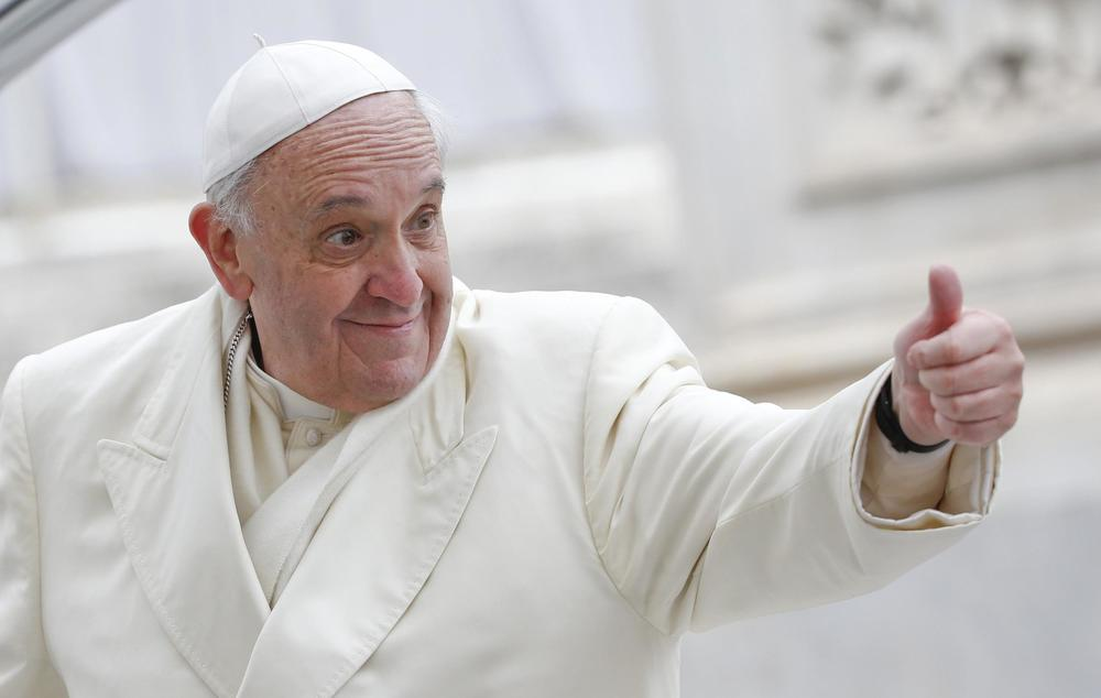 "Pope Francis remarks ""Catholics have no obligation to breed like rabbits.''"