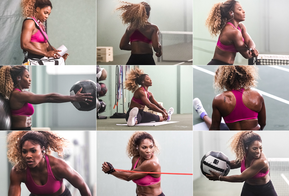 Serena Williams partnership with Beats by Dre headphones shows her strength in other aspects of life,beyond the tennis court.