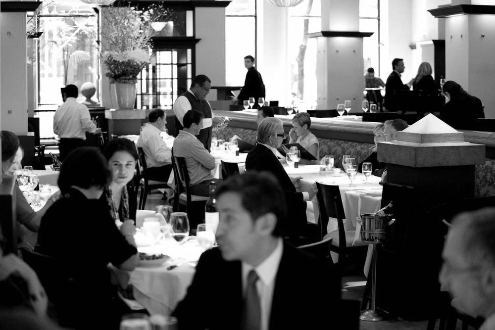 Gotham Bar & Grill, New York. Image courtesy of https://www.nycgo.com/restaurants/gotham-bar-grill