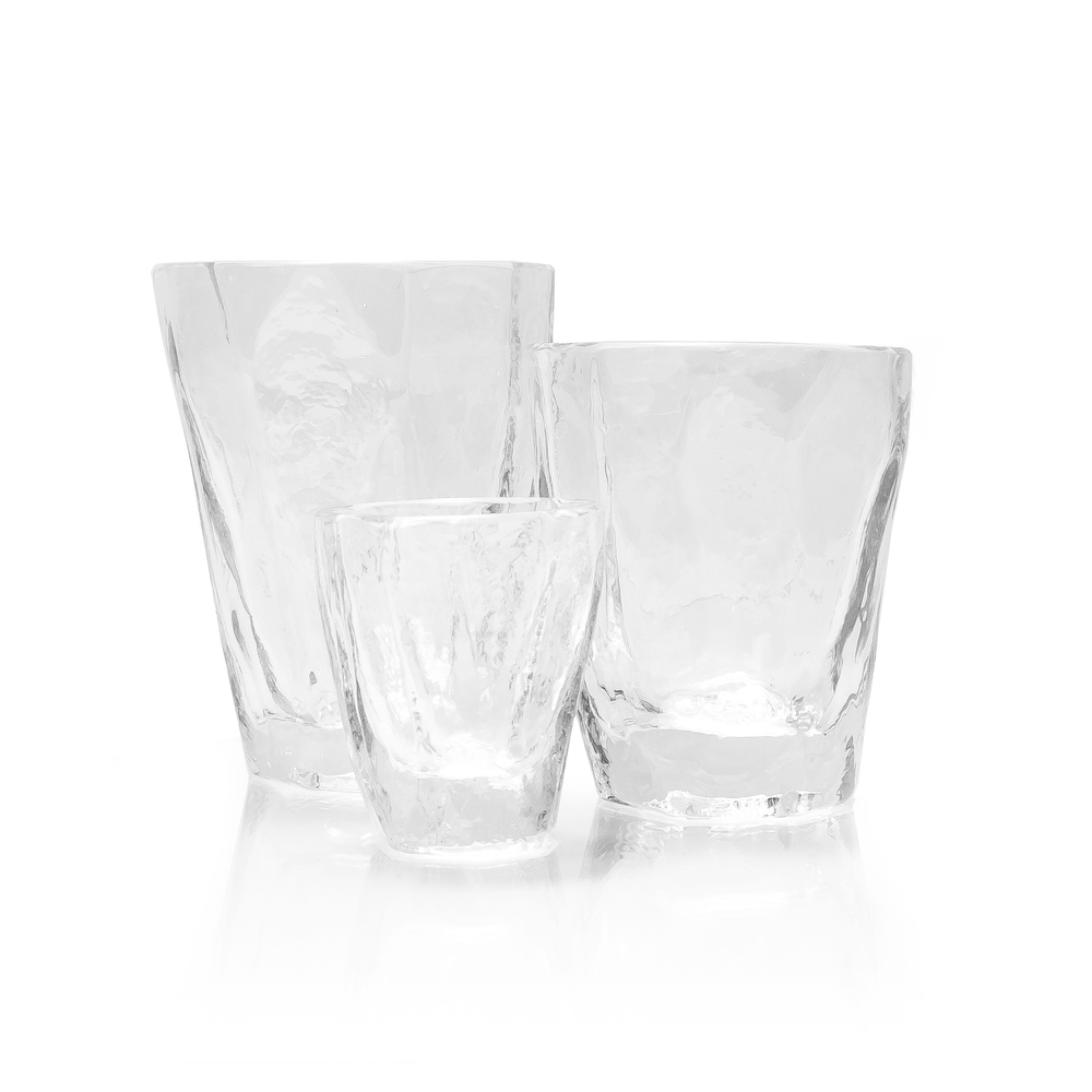CLEAR SOFT ROCKS GLASSES SET More Sizes