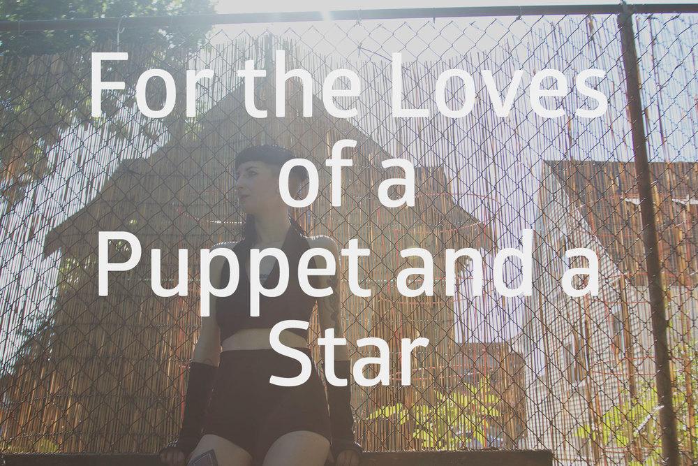 ForTheLovesOfAPuppetAndAStarTitlePage.jpg