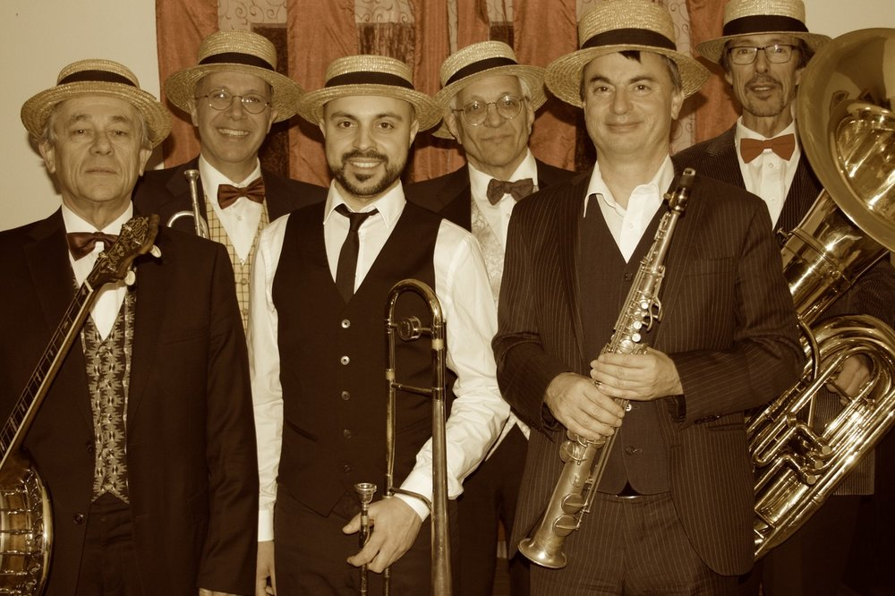 The Fats Boys Ragtime and Jazz Band  jeudi 12 juillet