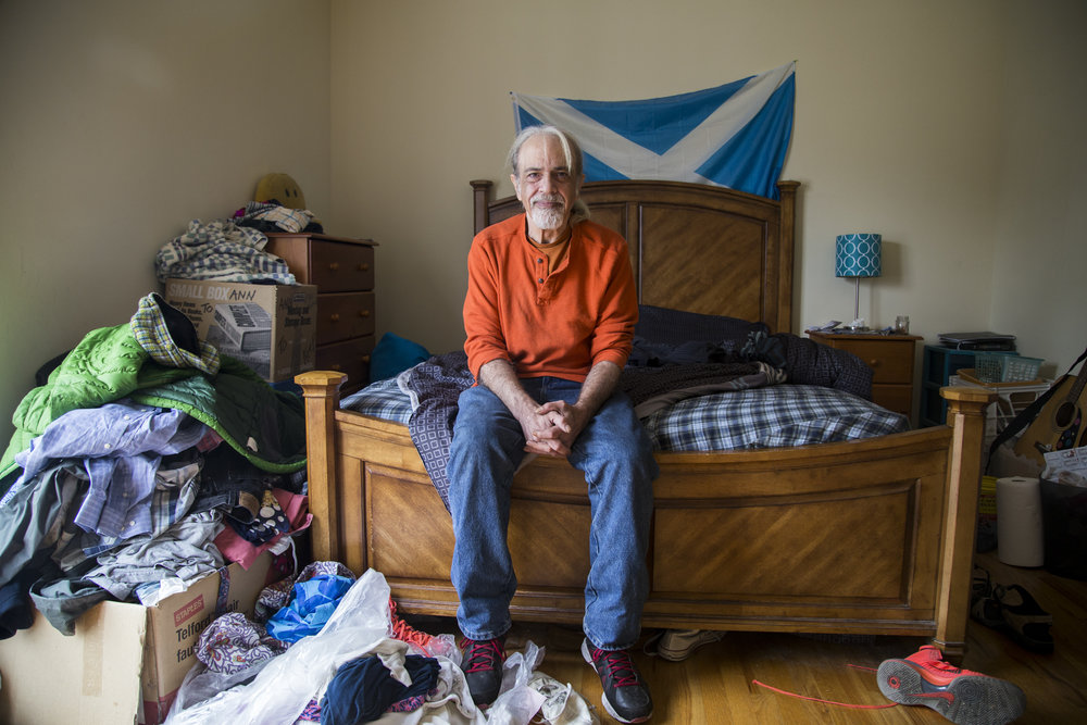 In 2007, everything fell apart for Harold Frydman. He stopped eating, bathing, and became homeless. He now lives in a residential housing program in NYC and struggles with severe anxiety and depression. For the  Staten Island Advance.