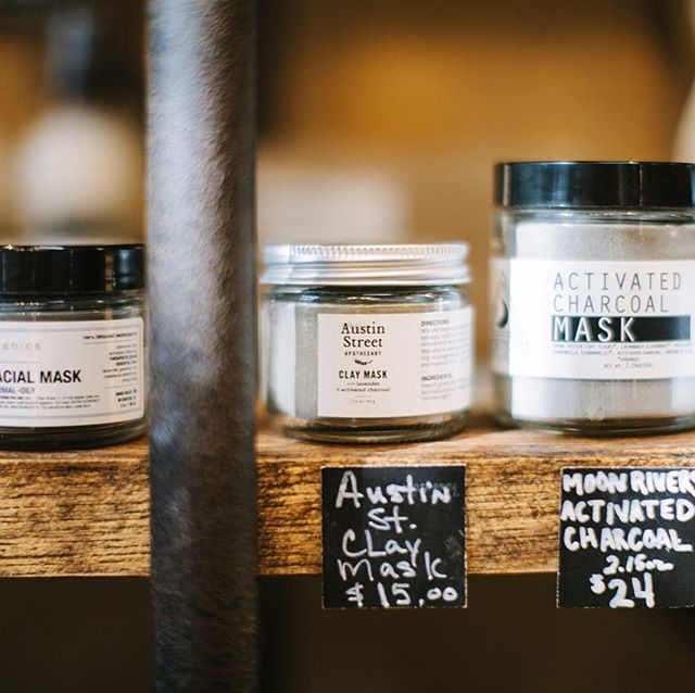 Our Clay Mask, in good company at @whiterocksoapgallery. 📷: @kaitlinmsimmons