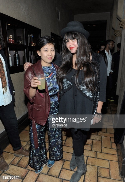 Ana Calderon & Nancy Whang DJ LCD Soundsystem Premiere Party