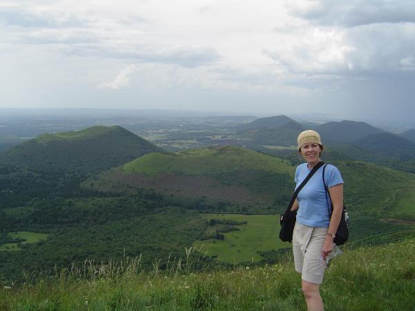 Parc des volcans en Auvergne, d'où mes racines ancestrales maternelles   ( http://www.parcdesvolcans.fr  )                    Photo: Louise Beaupré