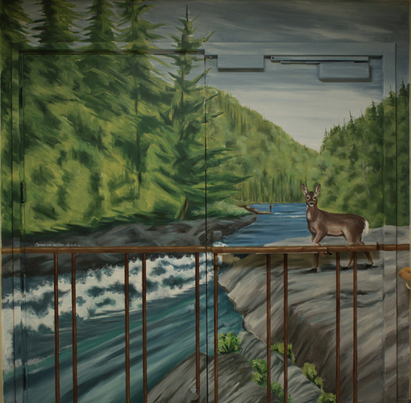 Murale 9' x 9'