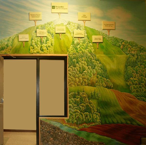 Murale 11'x 14 '
