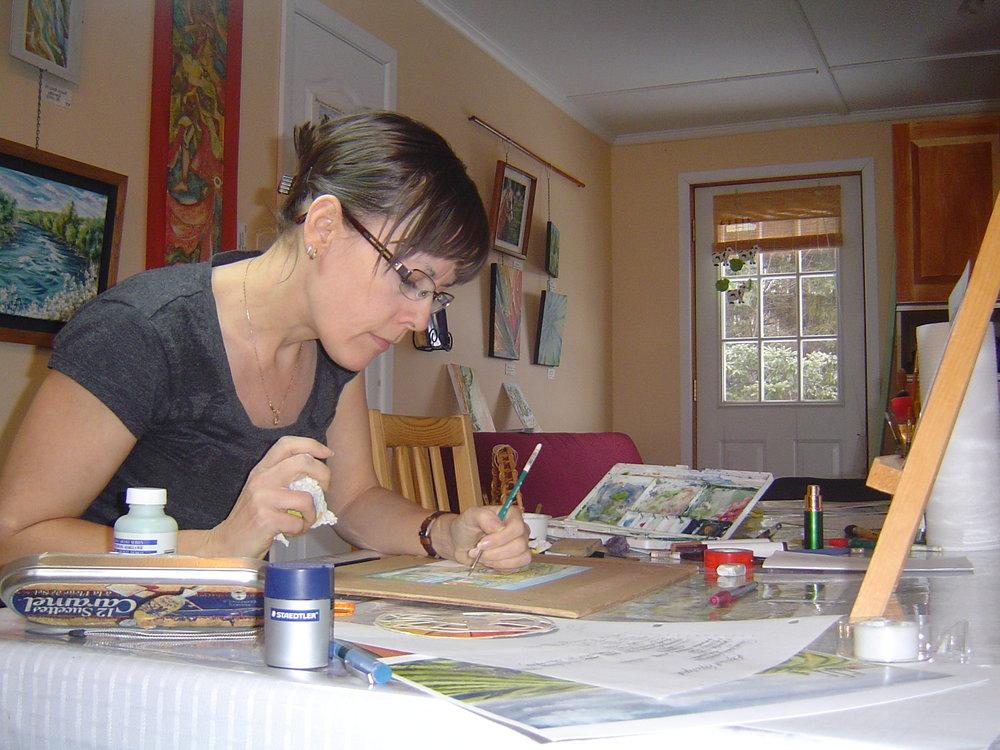 Vous souhaitez explorer des techniques de dessin ou de peinture dans un environnement exceptionnel? C'est ici que ça se passe!