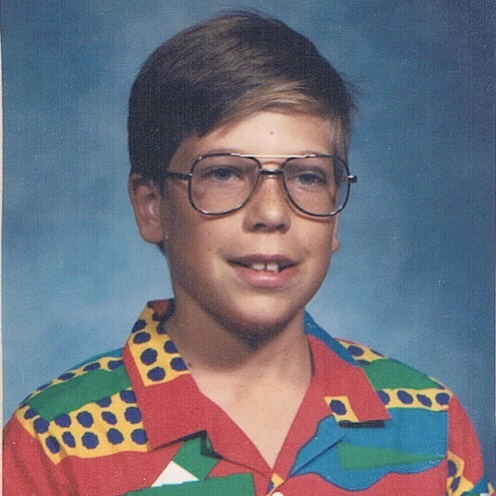 Found this gem from my childhood the other day and figured I had to share. How about that shirt, huh?? Totally rockin' it - circa 6th grade. Hahahahaha...WOW! #yikes #tbt #throwbackthursday #childhood #florida #middleschool #glasses #buckteeth #80sfashion #80s #powerrangers #redranger #lightspeedrescue #cartergrayson #schoolpictures