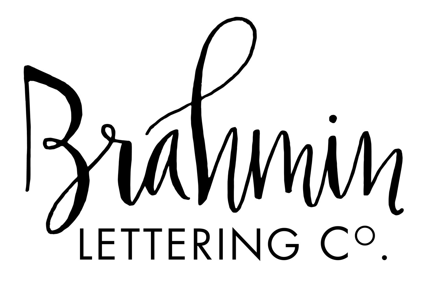 The brahmin lettering co