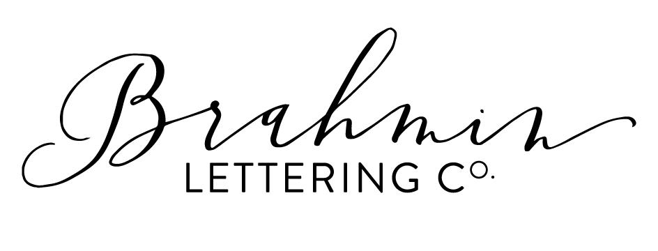 The brahmin lettering co