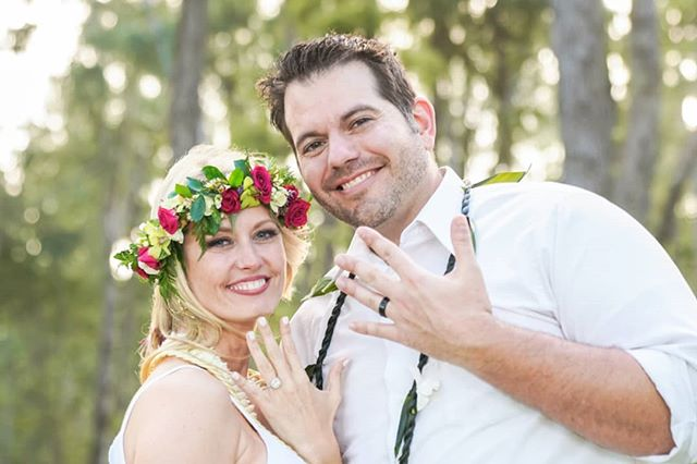 Josh gives Tricia a surprise proposal, then a wedding ceremony! As a wedding photographer, this is why I love about my job. It is my pleasure to capture your smiles and tears of joy, congratulations again, Josh & Tricia. #hawaiiweddingphotographer #oahuweddingphotographer #oahuwedding #hawaiibeachwedding #hawaiiweddingplanner