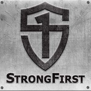 STRONG FIRST   Strong First is the School of Strength.  We pride ourselves in teaching individuals on how to utilize, implement, and educate using a variety of powerful tools including the kettlebell, the barbell, and one's own bodyweight.