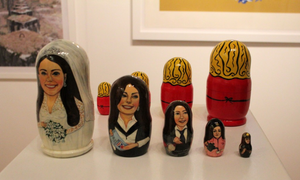 'The Classes of Kate Middleton and the Duchess of Cambridge' at the New York Affordable Art Fair in 2013. Featured in BuzzFeed and Arts Observer.
