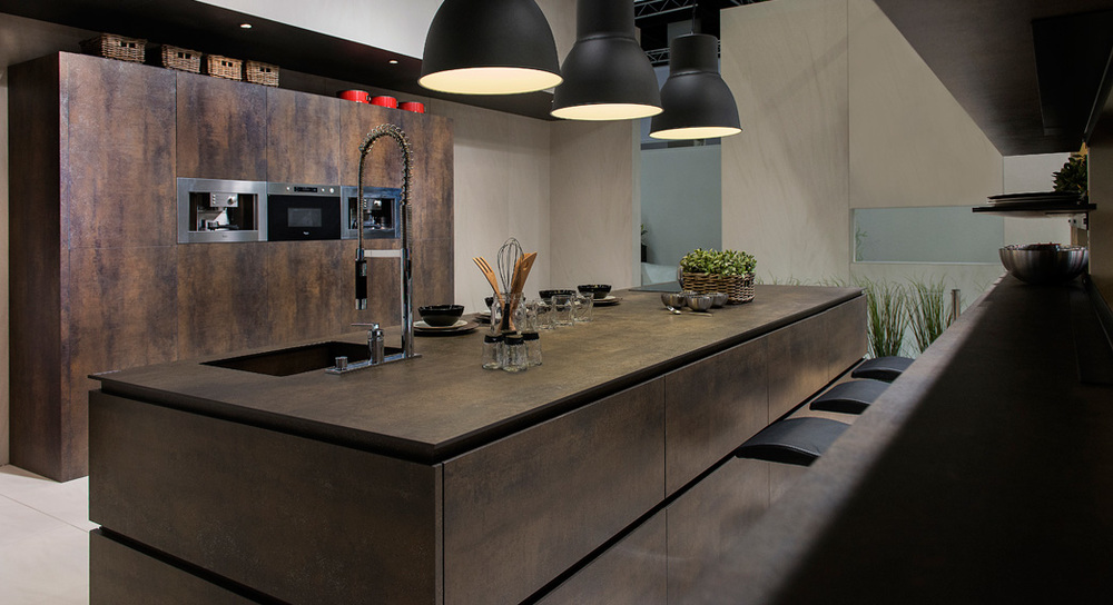 Exceptionnel Neolith Countertops Brown Kitchen 1045x568