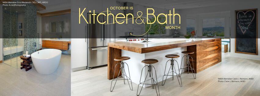 October Is Kitchen U0026 Bath Month