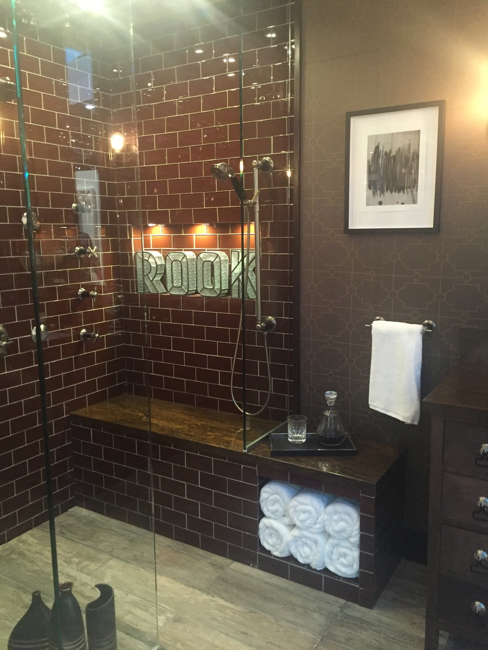 Shower space at KBIS, Las Vegas 2016