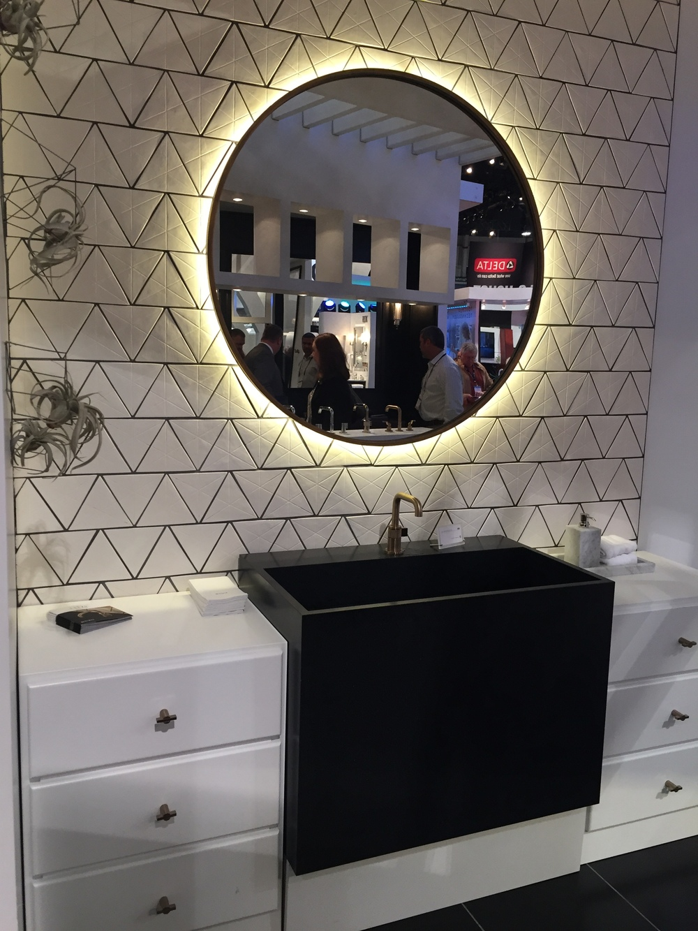 Lighted Mirror and Bath, KBIS 2016