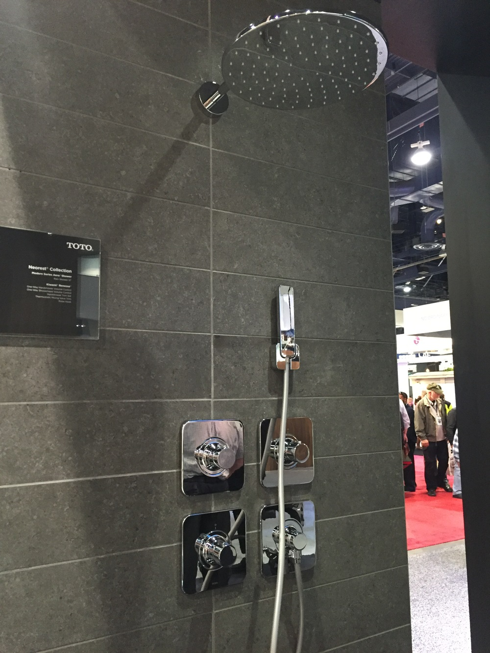 Shower hardware, KBIS 2016