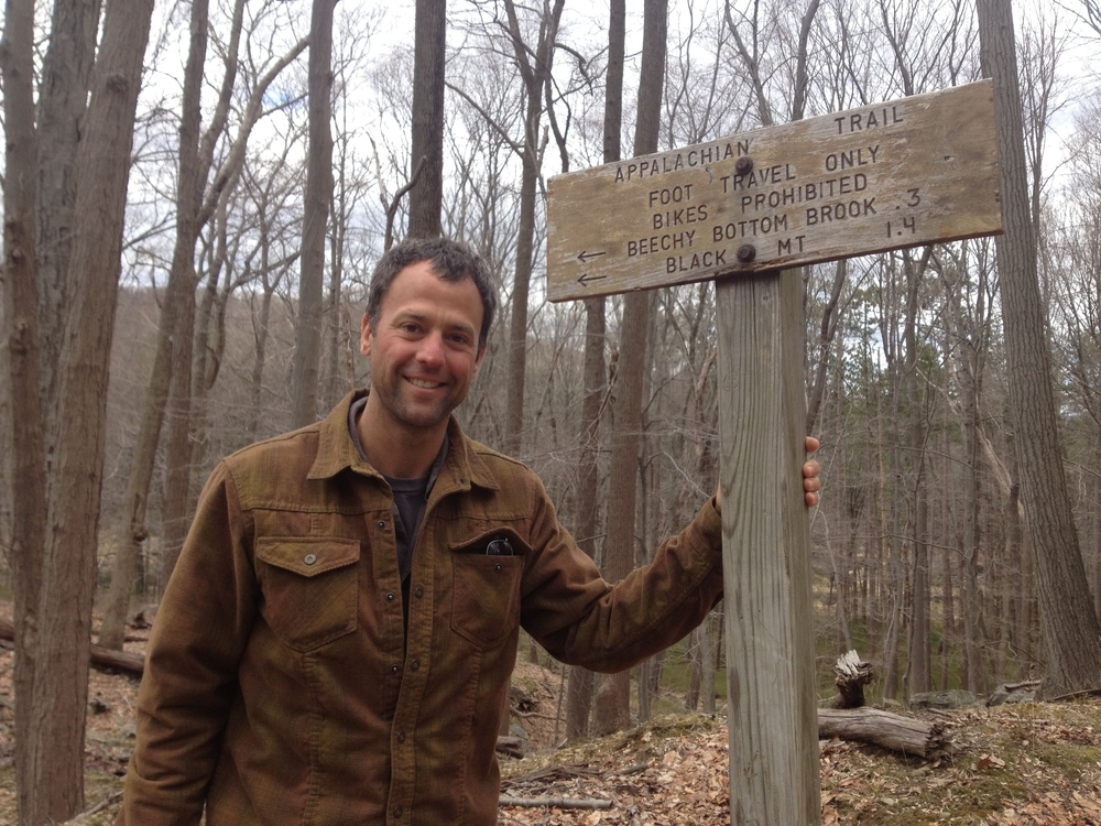 being a native of new jersey, the appalachian trail was never too far away