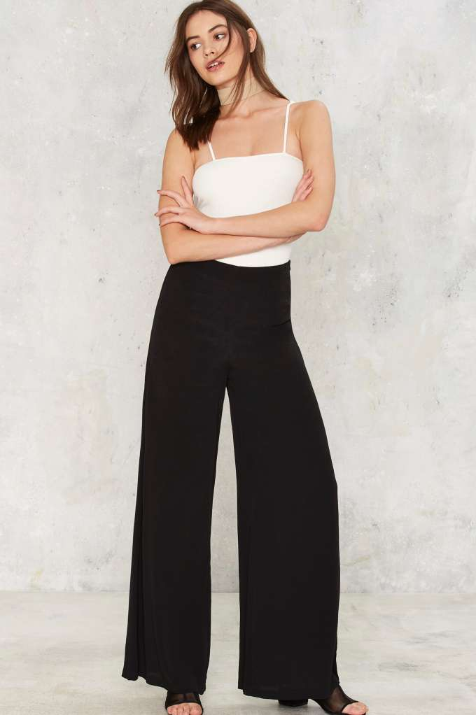 Nasty Gal Dip It Flow Wide Leg Pants