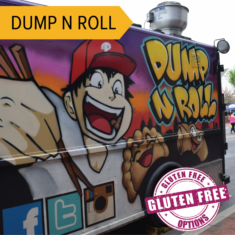 Dump n Roll   New twists on steamed and fried dumplings and egg rolls!  Dump N Roll is back again!