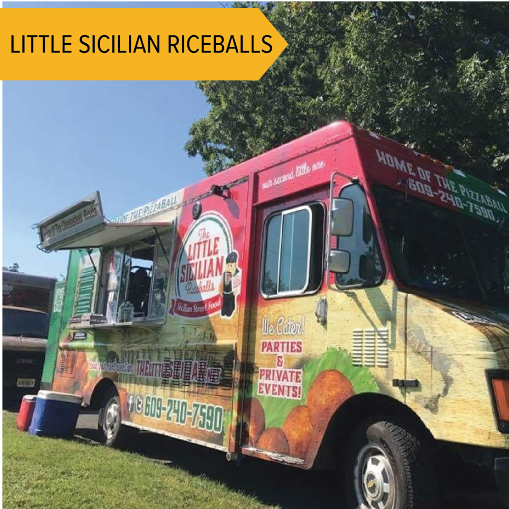 The Little Sicilian   Classic arancini (stuffed rice balls) as well as fun flavors!