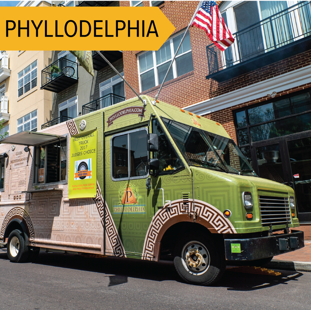 Phyllodelphia   Featuring foods like filled phyllo dough triangles, and a lamb chop lollipop!