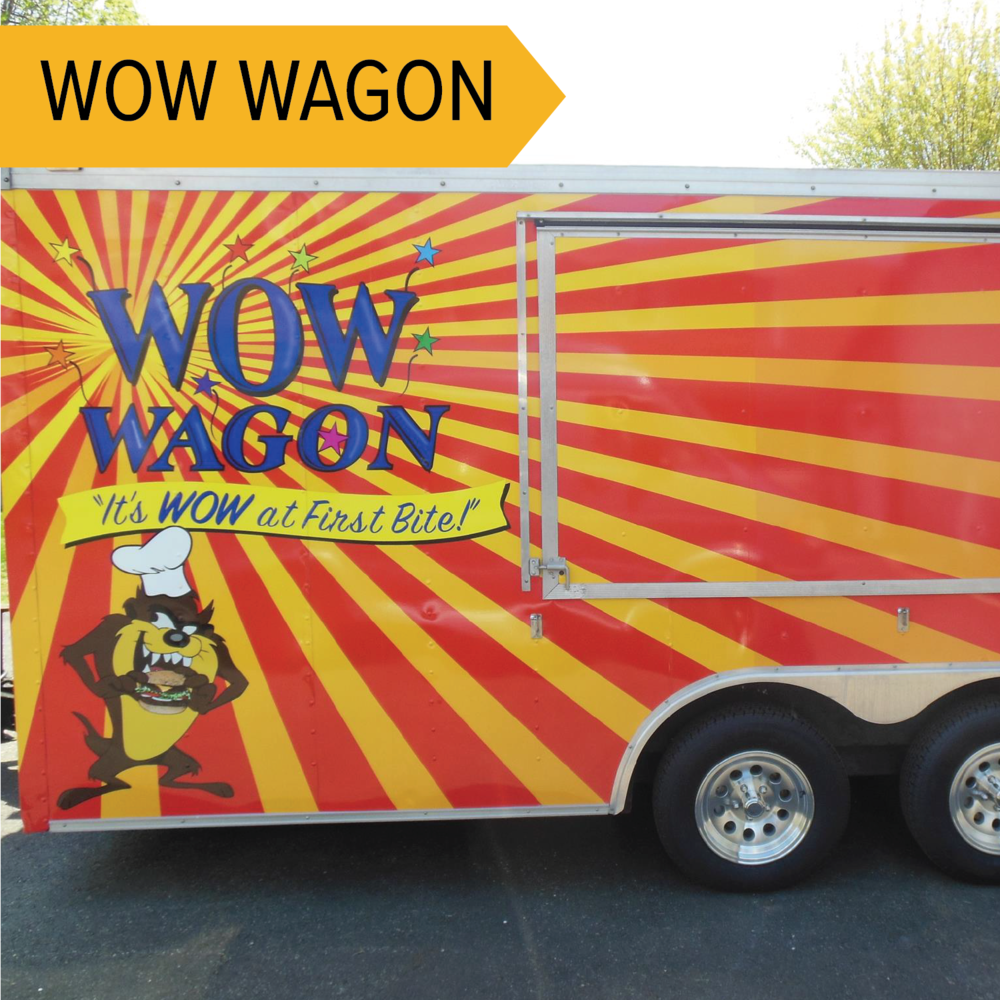 Wow Wagon   Serving up various types of Poutine! Sounds good, eh?