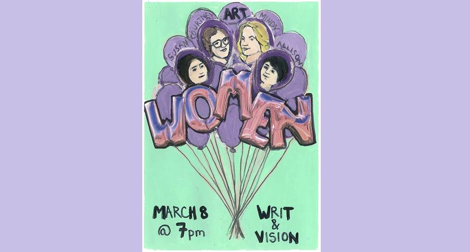 Writ & Vision is pleased to announce that on Tuesday, March 8th, we will be celebrating International Women's Day with a round table panel commemorating the impact of women on the growth of Provo. Provo is changing, and nowhere is that more visible than in local art, music, and business. The panel will discuss the influence of women on these changes, and will feature:    --C. Jane Kendrick - Provo City mayor's office, Rooftop Concerts,     --Allison Lew - Provo City Economic Development, Director of Braid Workshop for Women Entrepreneurs    --Mindy Gledhill - Musician, Latest project: Hive Riot    --Susan Krueger-Barber - Artist and Activist    This event is free and open to the public, and delicious refreshments will be provided. It is, however, also likely to be robustly attended, so we strongly encourage people to arrive early.