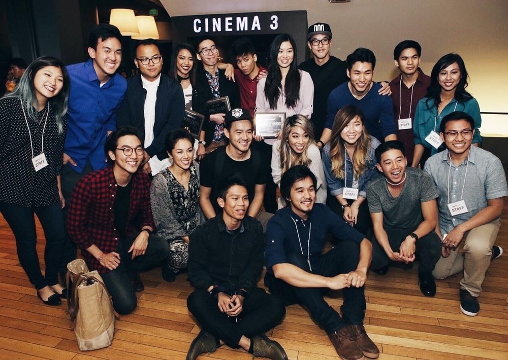 ISAtv team, Wong Fu, The Jubilee Project, and the winners!