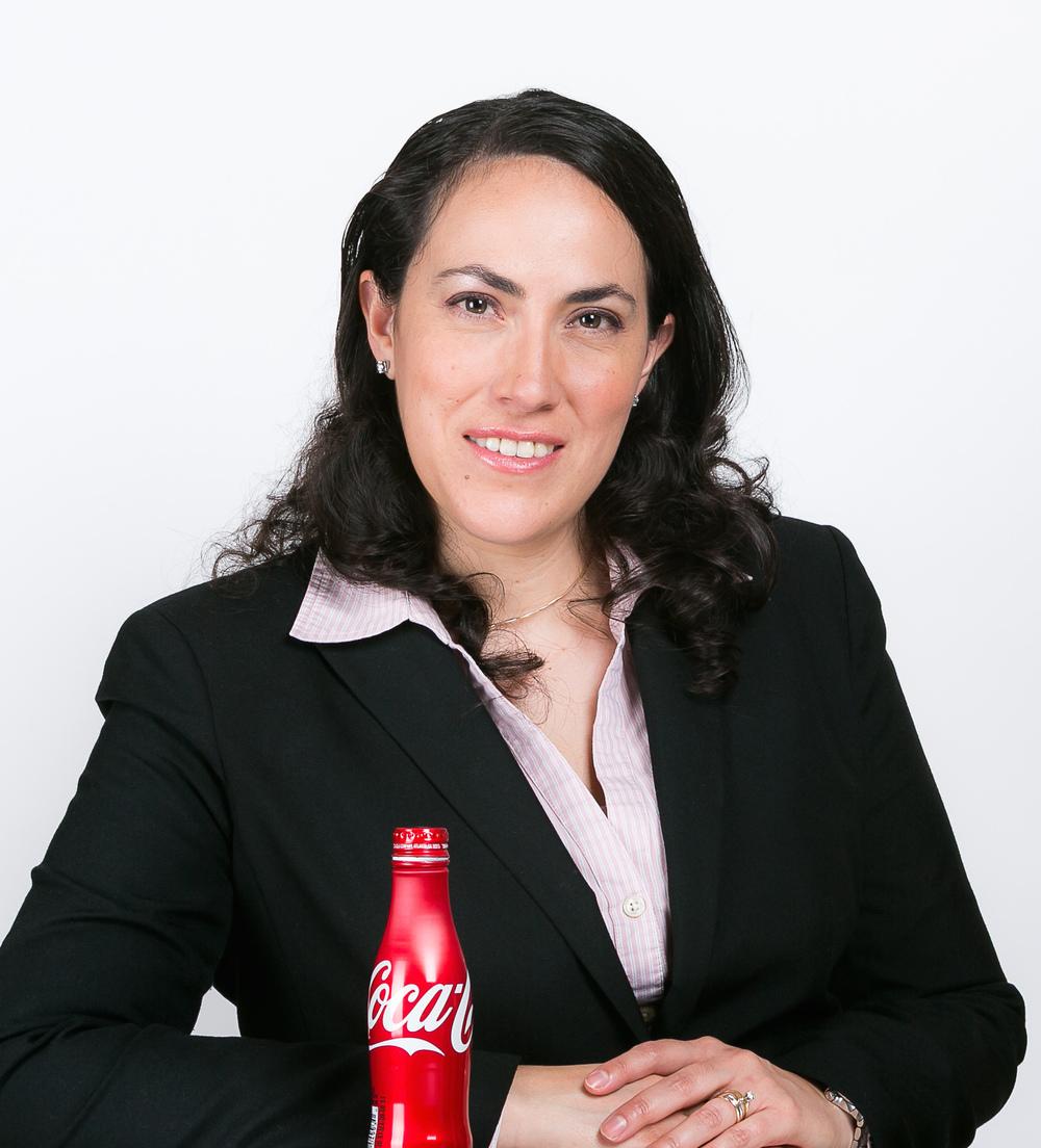 Carolina Santiago Rojas Directora de Calidad, Ambiental y Seguridad Coca-Cola de México.
