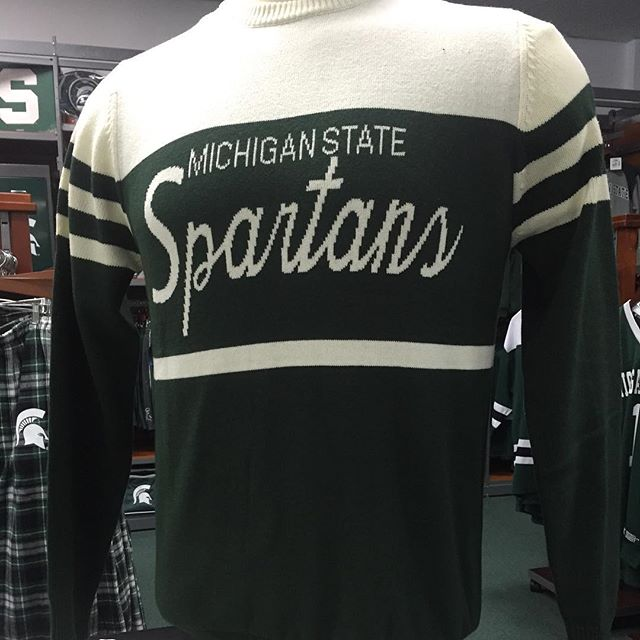Sweater weather is here! #stayclassy #msu #spartyon #gogreengowhite #spartanswill #msuhomecoming