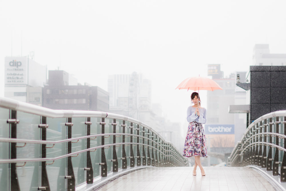 Sakae in Nagoya, Japan
