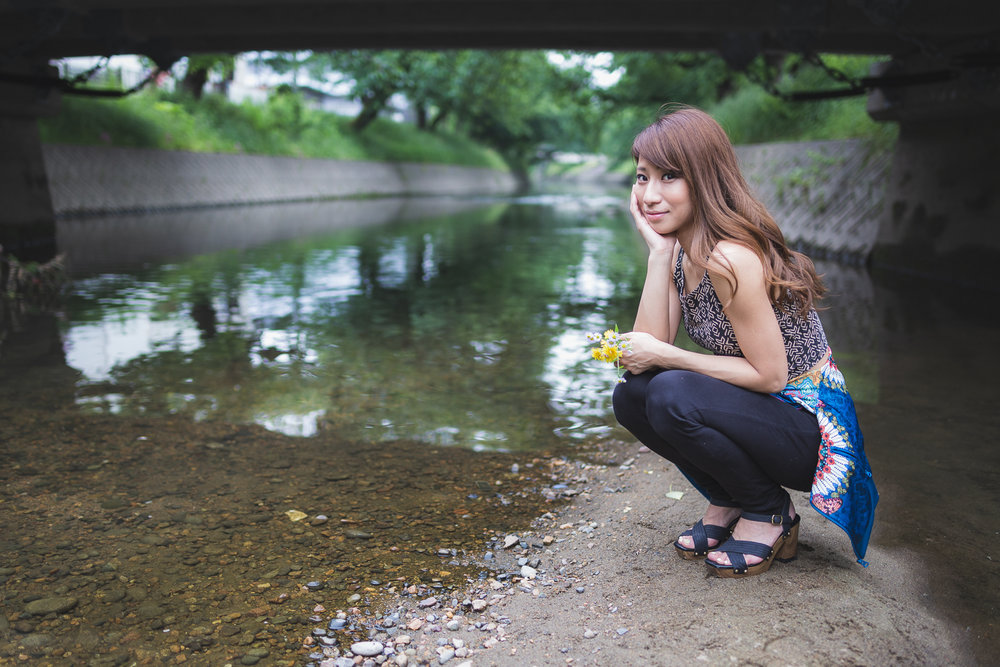 Gojo River Near Nagoya, Japan