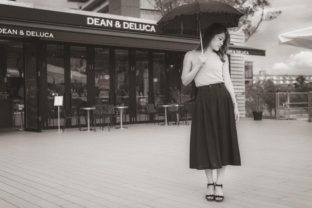Dean and Deluca in Meijo Koen in Nagoya, Japan