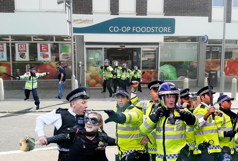 Co-op riot