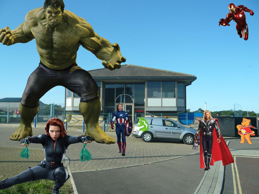 EA Avengers assemble