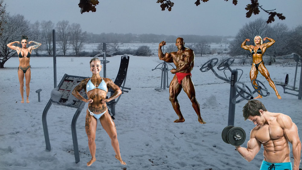 Winter gym