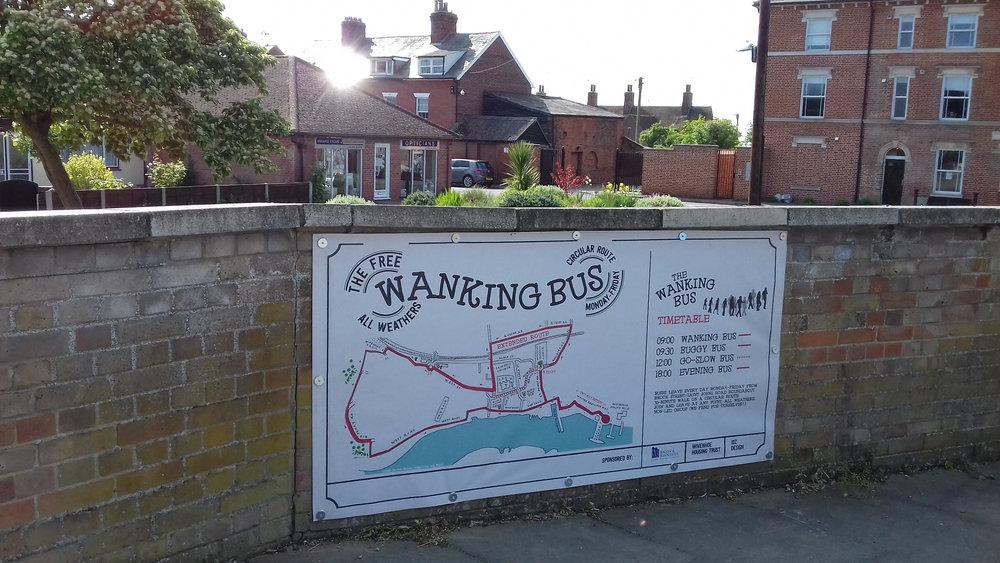 wanking bus
