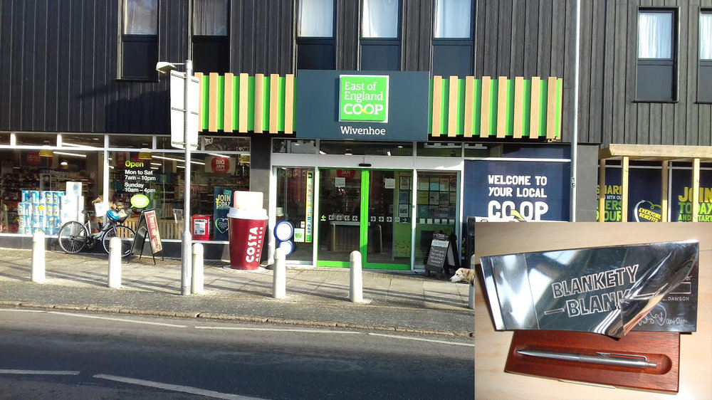 Wivenhoe Co-op's produce is blank because of the blanks, blanks and blanks