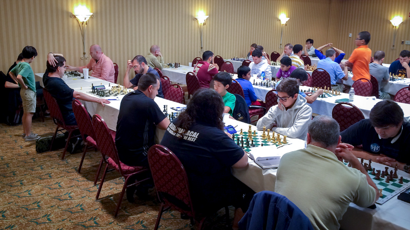 Premier Row, Round 4, CFCC Orlando Autumn Open & National Chess Day Tournament held October 9-11, 2015 at the DoubleTree by Hilton at SeaWorld in Orlando, FL.