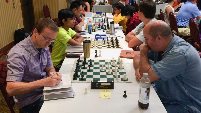James Kirk (1923) (L) vs Wayne Strickland (1920) (R) Premier Section, Round 4, CFCC Orlando Autumn Open